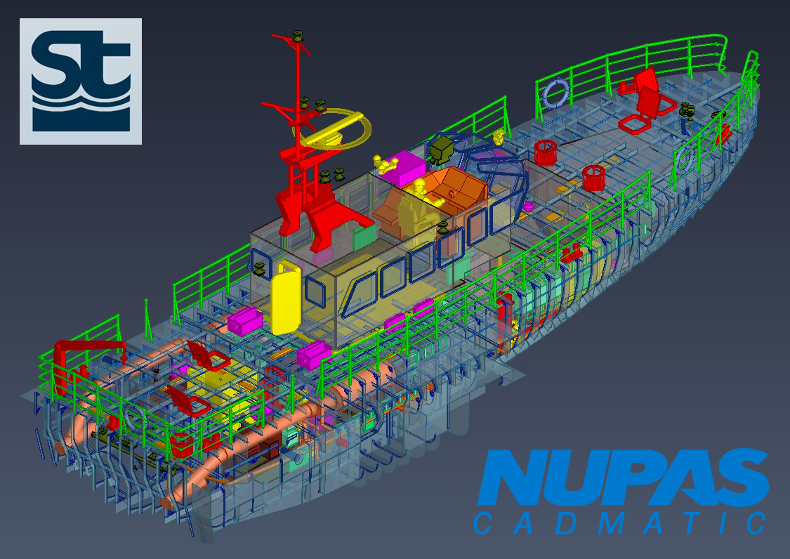 Software for shipbuilding nupas cadmatic seatech ltd for Grow room software